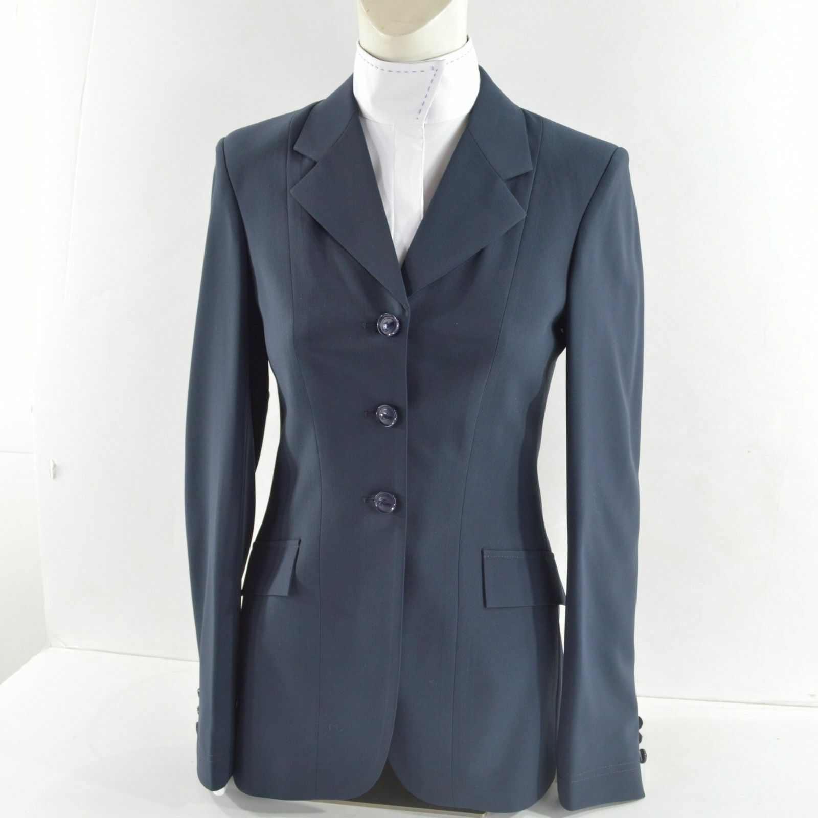 Grand Prix Tech Lite Ladies Hunt Coat - NAVY - L6937 - Different Sizes