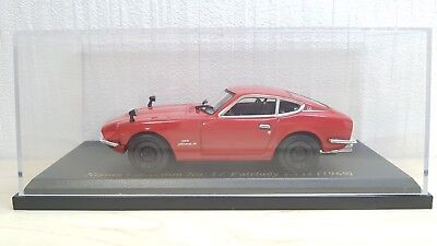 143 Norev 1969 Nissan Fairlady Z432 Red Diecast Car Model Ebay