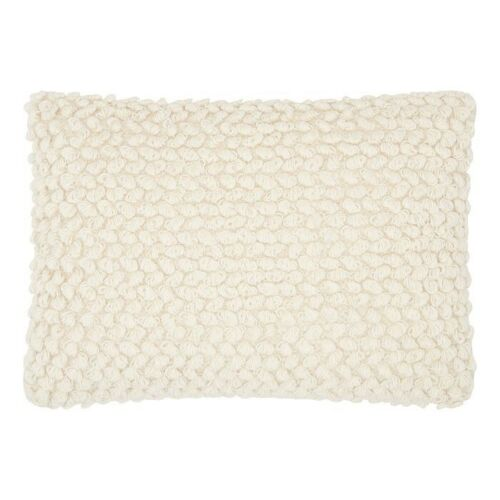 "2pk MINA VICTORY Thin Group Loops Throw PillowsOff WhiteLUMBAR20/""x14"