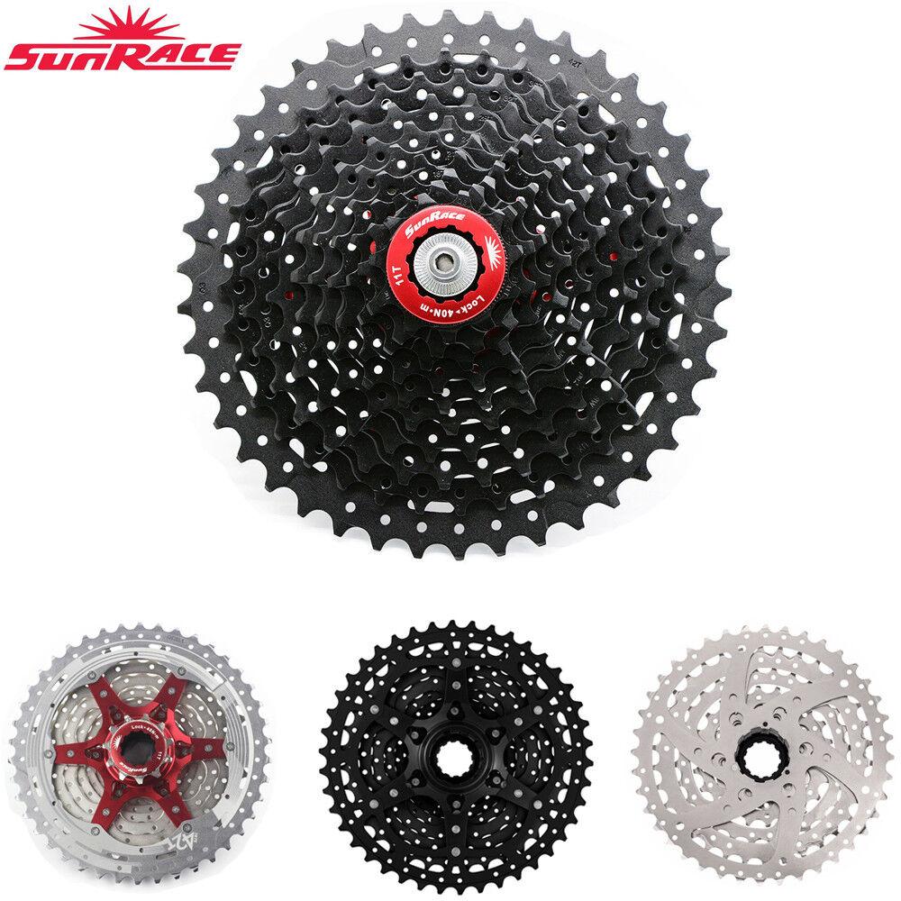 SUNRACE Cassetta Bici MTB Ciclismo 891011 velocità ruota dentata fit Shiuomoo SRAM