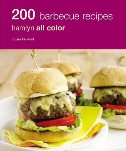 200 BARBECUE RECIPES Hamlyn Full Color Photos Paperback Cookbook Recipe Book