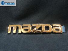 MAZDA 6 SEDAN AND HATCHBACK 2003-2008 NEW OEM REAR CHROME MAZDA EMBLEM