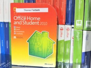 Image Is Loading Microsoft Office 2010 Home And Student Retail 3