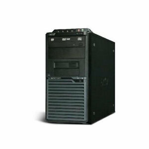 Pc-computer-desktop-Acer-Veritron-M275-intel-Q6600-4GB-DDR3-320GB-Windows-7-Pro