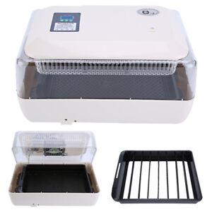 24-Eier-Brutapparat-Brutkasten-Brutmaschine-Inkubator-Flaechenbrueter-Gefluegel-GD