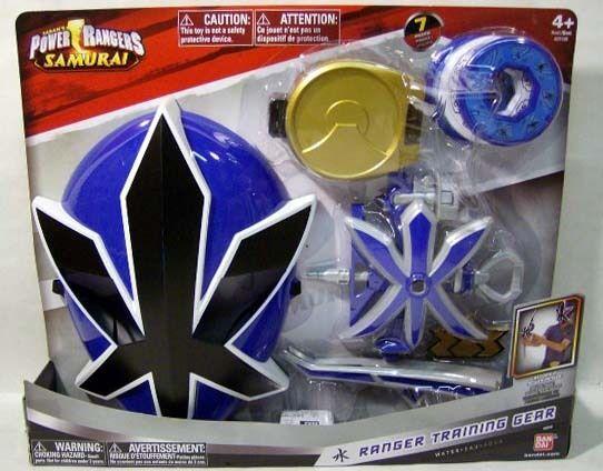 Power Rangers Samurai Azul Ranger formación Gear MásCochea Hydro Funda De Hebilla De Arco