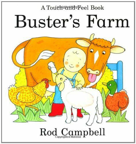 Buster's Farm (Touch & Feel Book),Rod Campbell