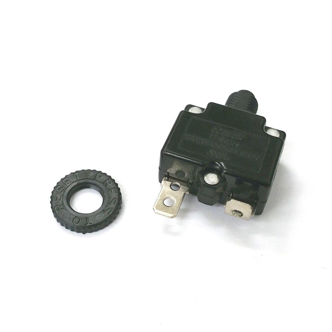 NEW 7 Amp Miniature Pushbutton Circuit Breaker Qty 5