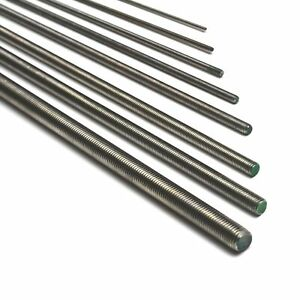 Barre filettate acciaio INOX A2 - M4 - M5 - M6 - M8 - M10 - M12 - M14 - M16