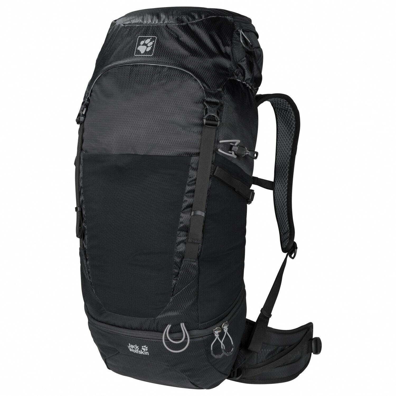 Jack Wolfskin Kalari Trail 36 Trekking Zaino Backpack Zaino 36 LITRI NERO