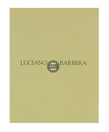 Luciano Barbera CLUB GINO NERO Black Leather Wallet