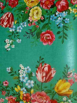 Pip Studio Vlies-Tapete 341046 Floral grün Blumen/Blumenstrauß (11.06 Euro/m²)