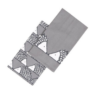 Scion-Spike-Set-2-Tea-Towels-Dark-Grey-Hedgehog-Hang-Loop-Kitchen-Patterned