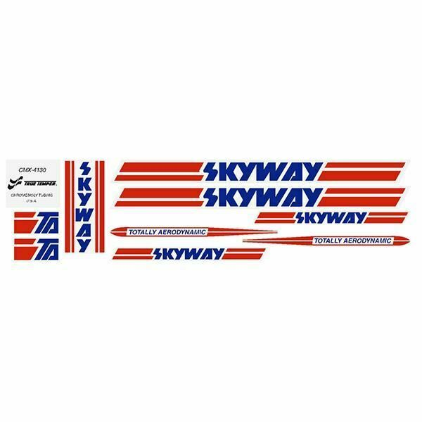 Skyway TA - 80's - NO TA - version decal set - old school bmx