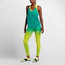 NIKE POWER LEGENDARY PRINTED MID RISE TRAINING TIGHTS 814287-702 Small $150