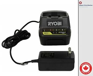 NEW Ryobi 18v DUAL CHEMISTRY Charger P118 FOR Lithium P102, P108 + & NiCad- P100