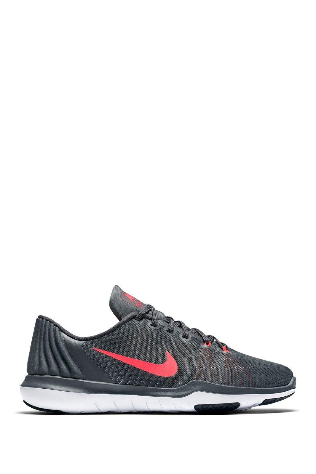 NEW NEW NEW Nike Flex Supreme Training Sneaker SZ 8 DK GRY-HT PNC  80 f08e4f