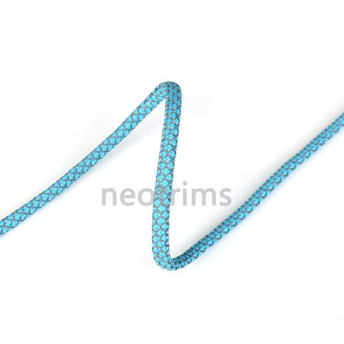 Sweat À Capuche Cordon Corde Lacet de Chaussure Neotrims 6 mm en métal argenté fin Réfléchissant Bootlaces