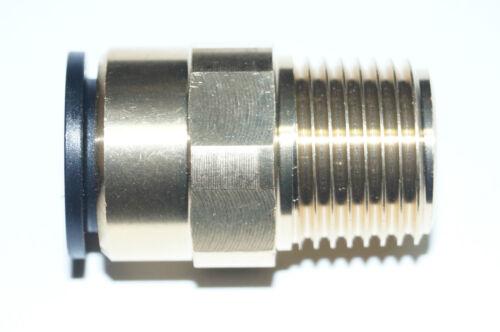 """Los conectores o enchufes aire comprimido steckverschraubung tubo conector 22x3//4/"""" MS"""