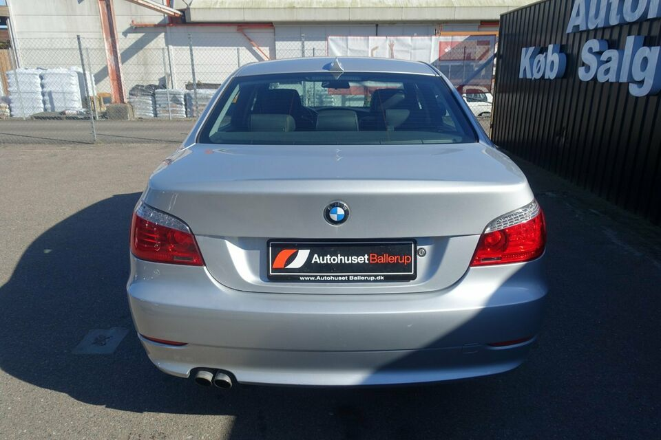BMW 530i 3,0 Steptr. Benzin aut. modelår 2008 km 203000