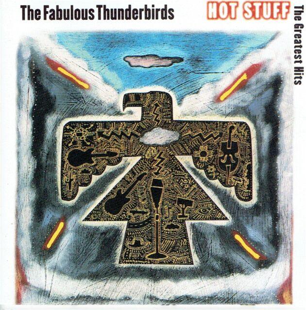 CD - THE FABULOUS THUNDERBIRDS - Hot Stuff