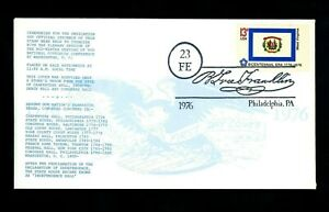 US FDC #1667 State Flags West Virginia WV 1976 LGS Phila. PA UO Ben Franklin