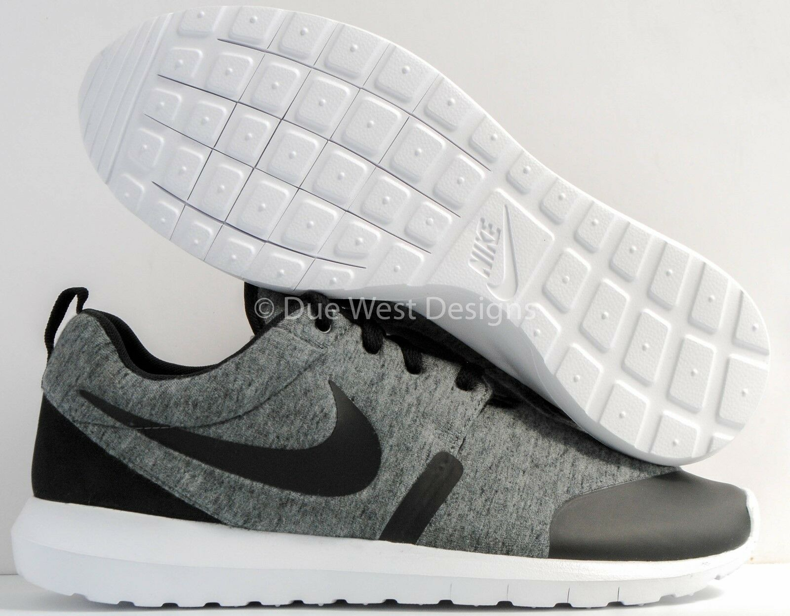 NIKE ROSHE NM TP TECH FLEECE presto Gris 8.5 negro air presto FLEECE acronym lunar off Blanco ea799c