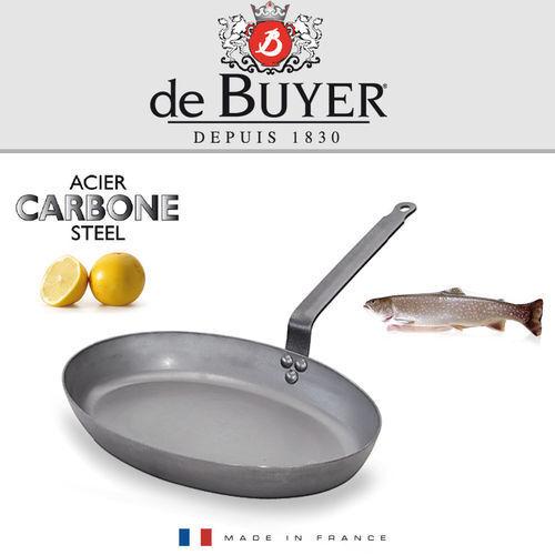 Carbone PLUS ovale Fischpfanne 36 cm de Buyer