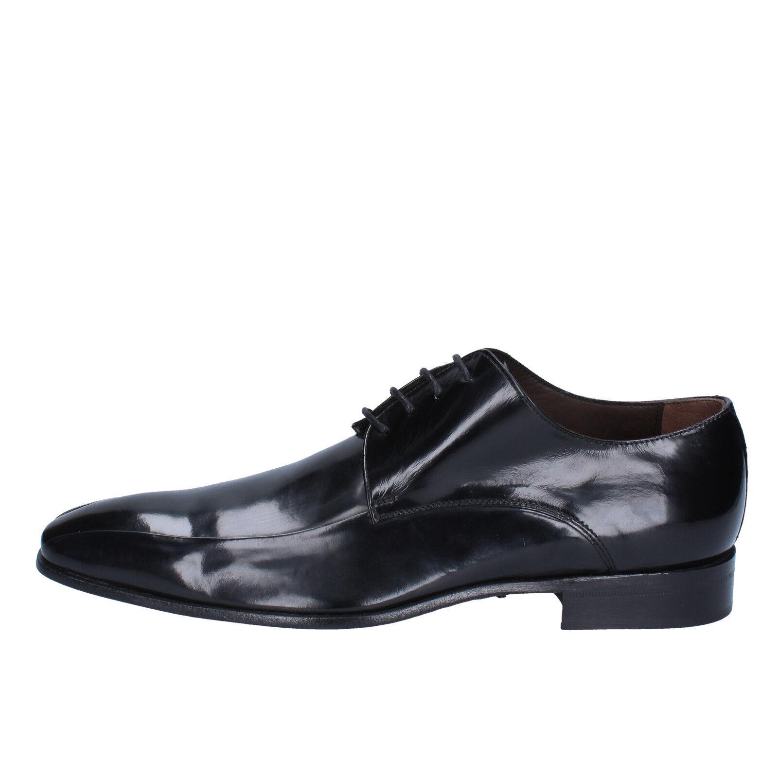 scarpe uomo CARIERI & CARIERI 39 EU classiche nero pelle AD754-B