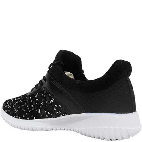 NEW WOMEN LADIES LOW WEDGE TRAINERS PUMPS WALKING LACE UP GYM SHOES SIZE FITNESS