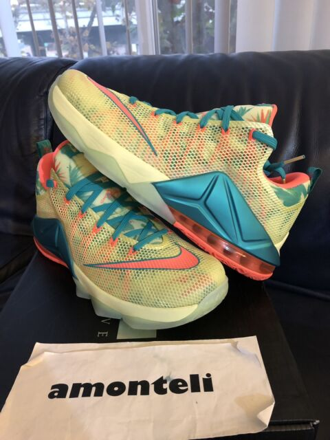 f871323ae91c9 BRAND NEW NIKE LEBRON 12 LOW PREMIUM LEBRONOLD PALMER - SIZE 12 DEADSTOCK