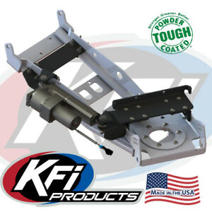 Kfi Utv Snow Plow Blade Electric Over Hydraulic Power Turn Actuator