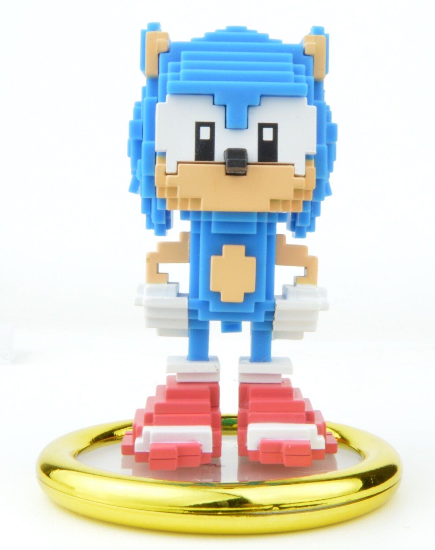 Kidrobot Sonic the Hedgehog 3-Inch Mini-Figure - Pixelated Sonic