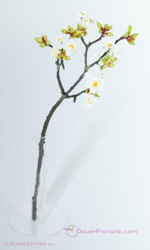 weiss 59cm Kirsch Kunstblumen Seidenblumen künstliche Kirschblütenzweig
