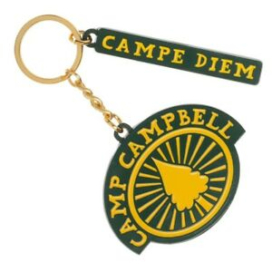Details about Camp Camp Camp Campbell Campe Diem Keychain Rooster Teeth  Official Bioworld