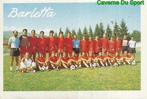 SQUADRA TEAM ITALIA SS.BARLETTA SERIE B STICKER CALCIO 89 EUROFLASH