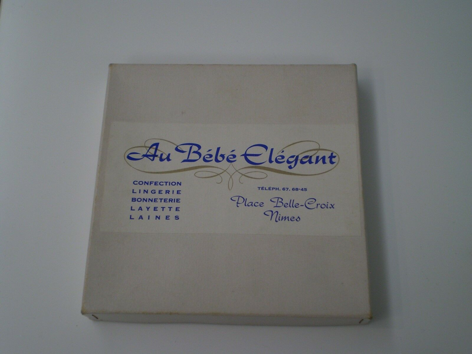 ANTIQUE CROWN DE FLEURS pr BABY OR LITTLE GIRL BOX ORIGINAL THE BABY ELEGANT