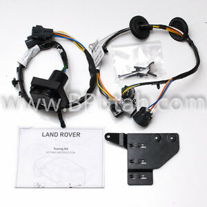 details about land rover lr4 tow hitch trailer wiring wire harness electric genuine oem 14~16 Trailer Light Wiring Color Code