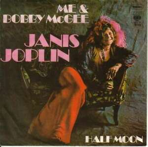 Janis-Joplin-Me-And-Bobby-McGee-Half-Moon-7-034-Single-Vinyl-Schallplatte-47933