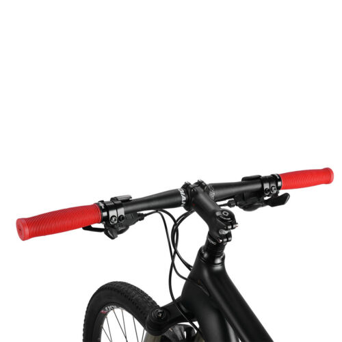 RockBros Bike Cycling One Side Lock TPR Rubber Bicycle Handlebar Grips Red