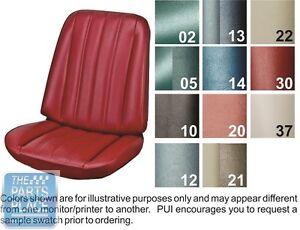 Pleasing Details About 1966 Chevelle Bright Blue Front Buckets Seat Covers And Coupe Rear Pui Spiritservingveterans Wood Chair Design Ideas Spiritservingveteransorg