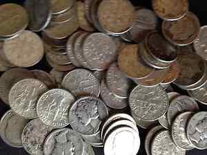MINTED ONE HALF LB LOT 1//2 POUND KENNEDY /& WASHINGTON 90/% SILVER COINS U.S