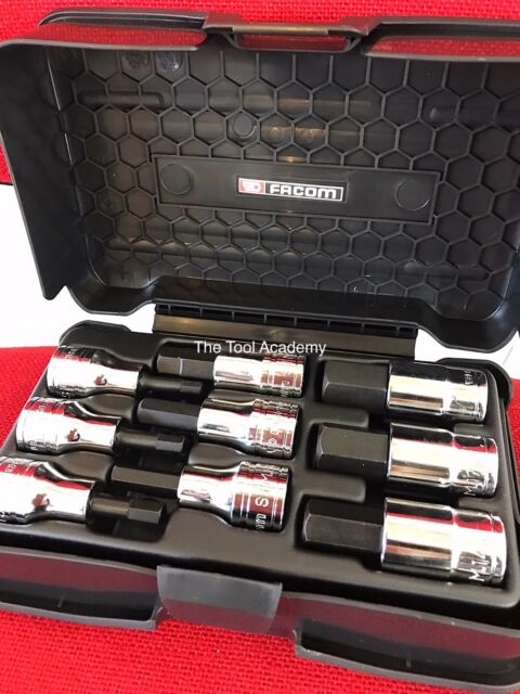 FACOM coffret 1//2 Drive Metric Hex Allen Bit Socket Set 5 mm /> 19 mm