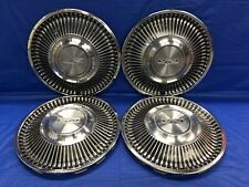 Vintage Set Of 4 1968 Ford 14 Hubcaps Fairlane Falcon Good Condition