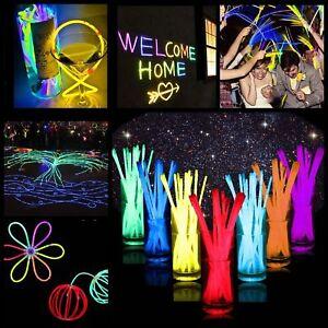 300-8-034-Premium-Glow-Sticks-Bracelet-Necklaces-Neon-Party-Lights-Party-Favors-Ral