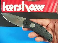 KERSHAW - THISTLE push button lock WIDE BLADE edc knife large plunge KS KAI 3812