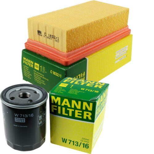 Mann-Filter set filtro aceite filtro de aire inspección paquete mol-9308764