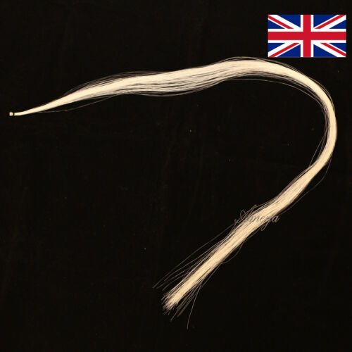 1 Hank of Mongolion Horse Hair for Violin Bow 4//4 Also for Viola etc