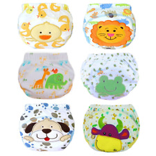 Ateid Baby Girls Reusable Potty Training Pants Pack of 6