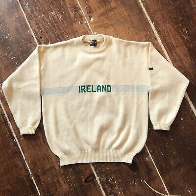 huge inventory pick up buy Vintage 80s Ireland Sweater Mens XL Blarney Castle Knitwear Acrylic  Crewneck | eBay